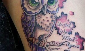 101 татуировка совы: на руке, шее и ноге, фото и эскизы, значение рисунка