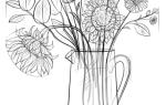 Как нарисовать букет цветов карандашами поэтапно — инструкция для начинающих