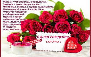 Красивые картинки С Днем Рождения Галина