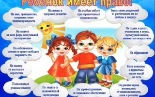 Конвенция о правах ребенка в картинках