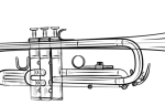 Как нарисовать трубу (Trumpet) — пошаговая инструкция