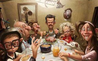 Смешные картинки семьи