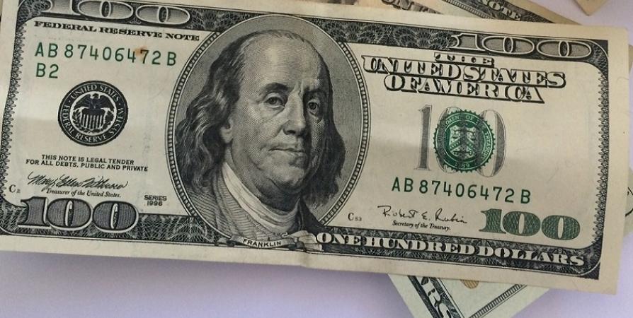Тысяча долларовая купюра фото