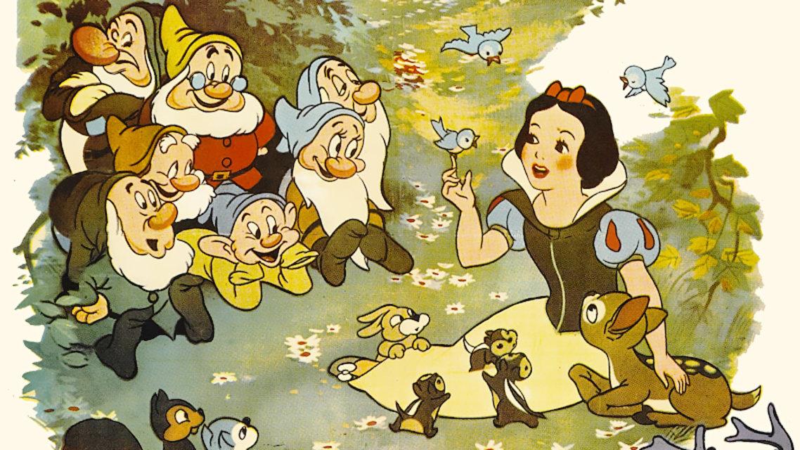 Белоснежка и семь гномов мультфильм 1937 картинки