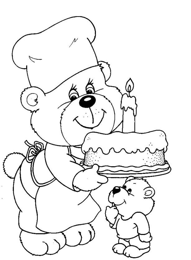 Картинки разукрашки с днем рождения бабушке