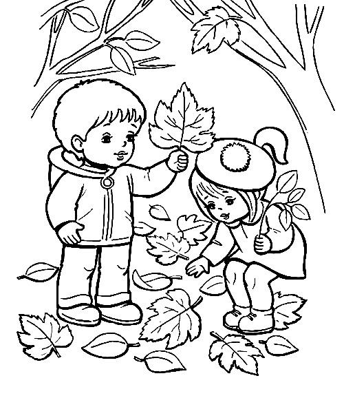 Как нарисовать осень: картинки для срисовки карандашом и ...