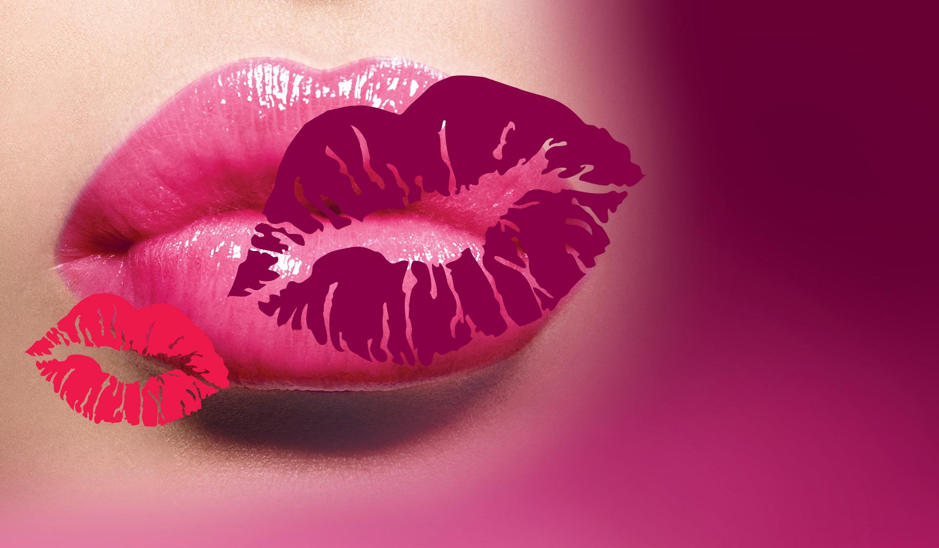 Картинка воздушный поцелуй губы